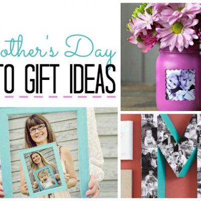 Mother's Day Photo GIft Ideas | SimplyFreshVintage.com