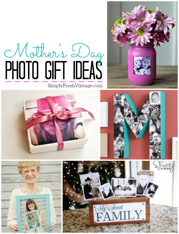 Mother's Day Photo Gift Ideas