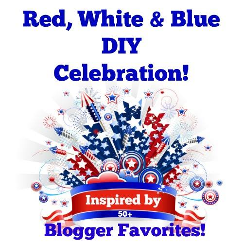 DIY your way to the 4th of July! These DIY crafts, and decor items will have your home festive and ready to celebrate. | SimplyFreshVintage.com