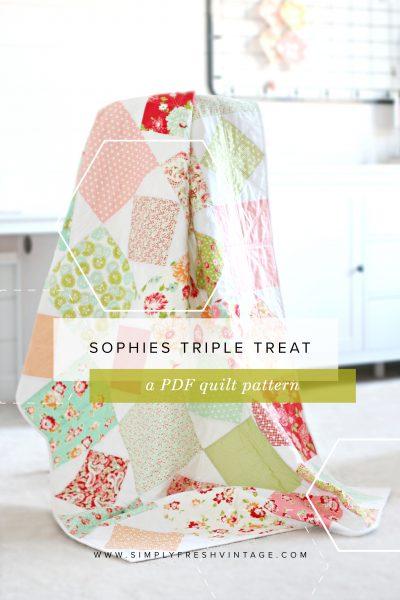 Sophie's Triple Treat Quilt Pattern