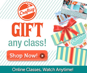 Craftsy Class Gift Certificate | SimplyFreshVintage.com