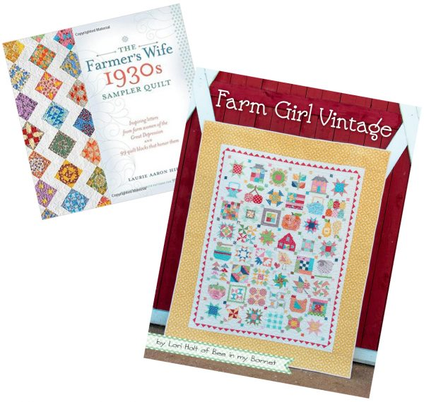 Farmers Wife and Farm Girl Vintage Quilt Books | SimplyFreshVintage.com