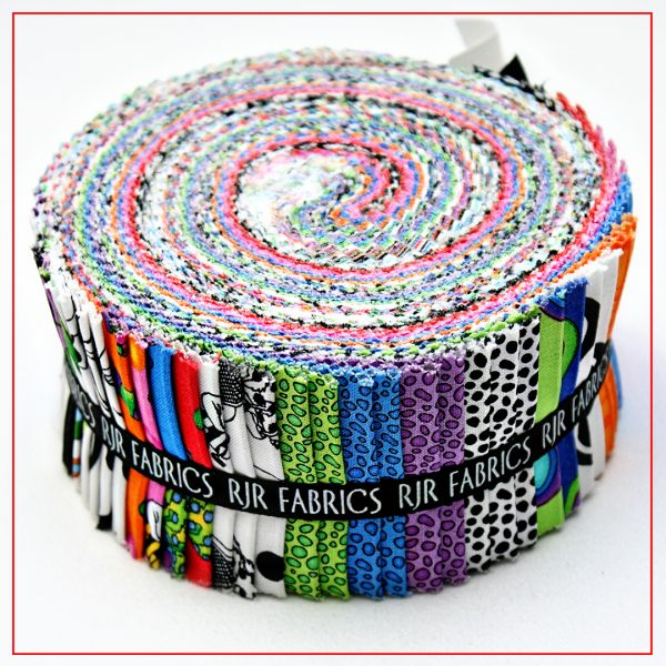 "What's Bugging You Jelly Roll / Pixie Strips | 40 2-1/2"" x WOF strips, great for quilts and craft projects."